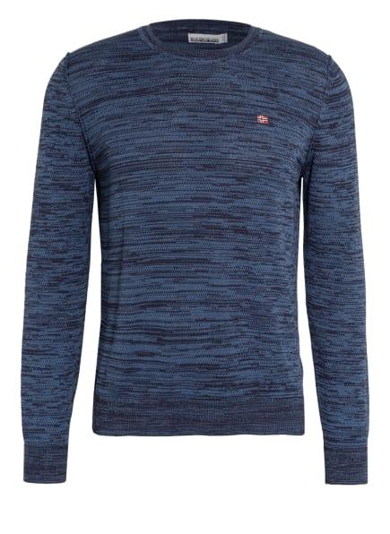 NAPAPIJRI Pullover DUEVILLE, Farbe: BLAU/ DUNKELBLAU (Bild 1)