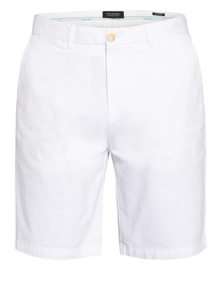 SCOTCH & SODA Shorts STUART Regular Slim Fit, Farbe: WEISS (Bild 1)