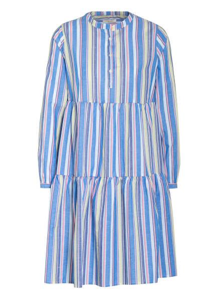 lilienfels Kleid mit Volantbesatz, Farbe: WEISS/ BLAU/ GELB (Bild 1)