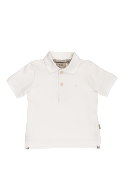 WHEAT Piqué-Poloshirt, Farbe: WEISS (Bild 1)
