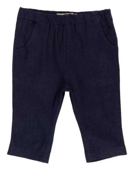 WHEAT Hose mit Leinen, Farbe: DUNKELBLAU (Bild 1)