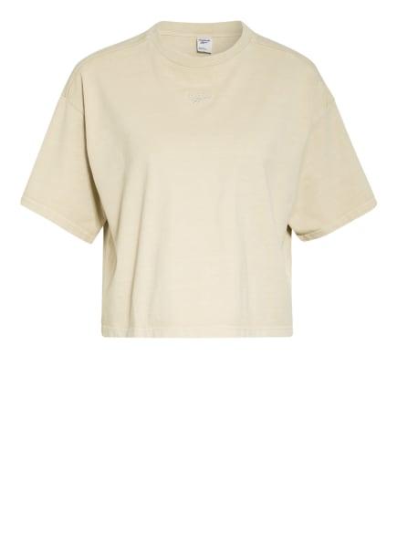 Reebok CLASSIC Cropped-Shirt CLASSICS, Farbe: HELLBRAUN (Bild 1)