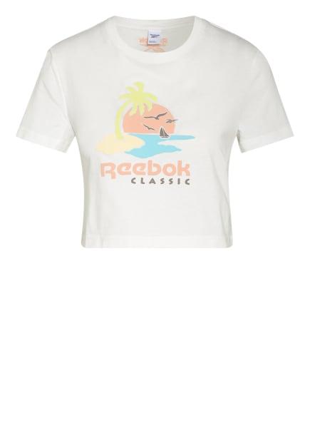 Reebok CLASSIC Cropped-Shirt, Farbe: WEISS (Bild 1)
