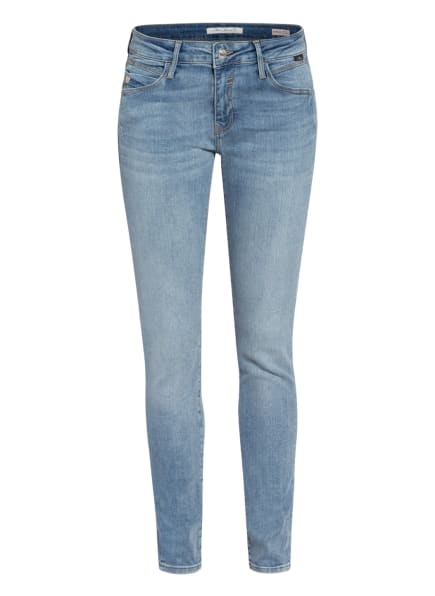 mavi Skinny Jeans ADRIANA, Farbe: 33219 lt foggy glam (Bild 1)