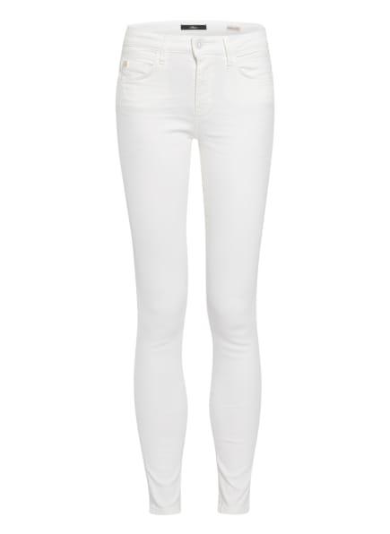 mavi Skinny Jeans ADRIANA, Farbe: 33214 white str (Bild 1)