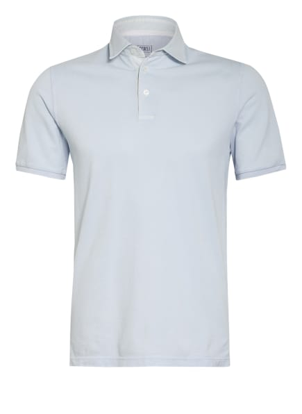 FEDELI Piqué-Poloshirt, Farbe: HELLBLAU (Bild 1)