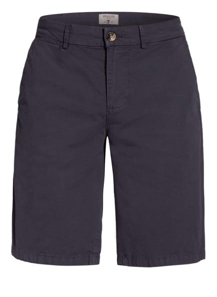 7 for all mankind Chino-Shorts SLIMMY Regular Fit, Farbe: DUNKELBLAU (Bild 1)