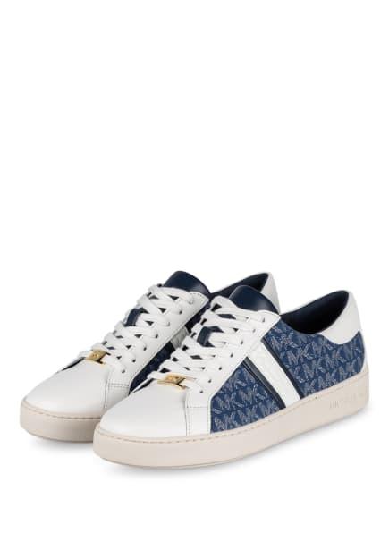MICHAEL KORS Sneaker KEATON, Farbe: WEISS/ BLAU (Bild 1)