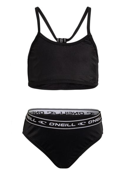 O'NEILL Bustier-Bikini SPORTCLUB ACTIVE , Farbe: SCHWARZ (Bild 1)