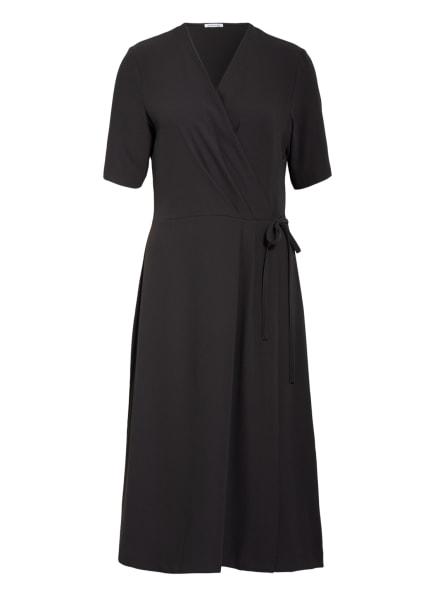 seidensticker Kleid in Wickeloptik, Farbe: DUNKELGRAU (Bild 1)