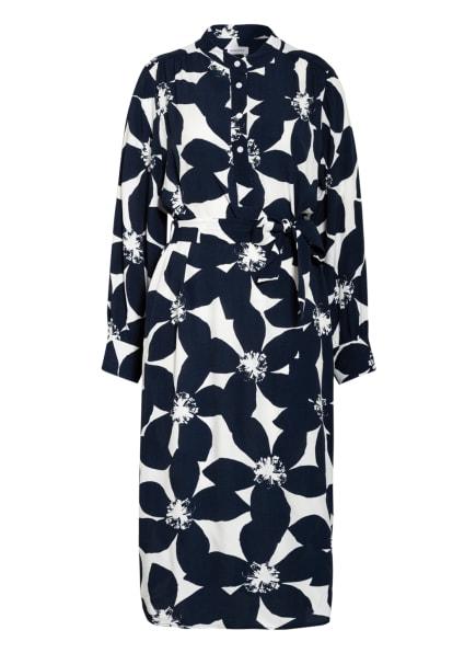 seidensticker Kleid, Farbe: WEISS/ DUNKELBLAU (Bild 1)