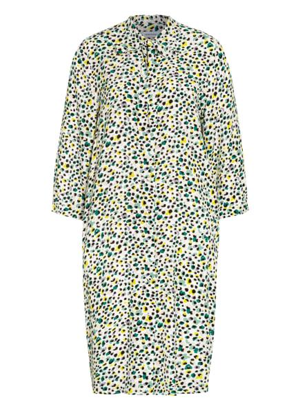 seidensticker Hemdblusenkleid mit 3/4-Arm und Schluppe, Farbe: WEISS/ HELLGRÜN/ HELLLILA (Bild 1)