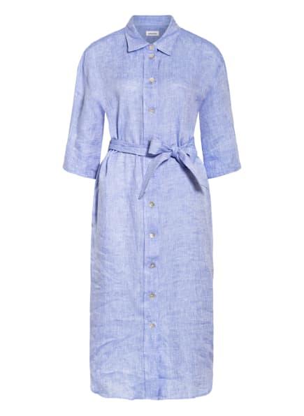 seidensticker Hemdblusenkleid aus Leinen, Farbe: HELLBLAU (Bild 1)