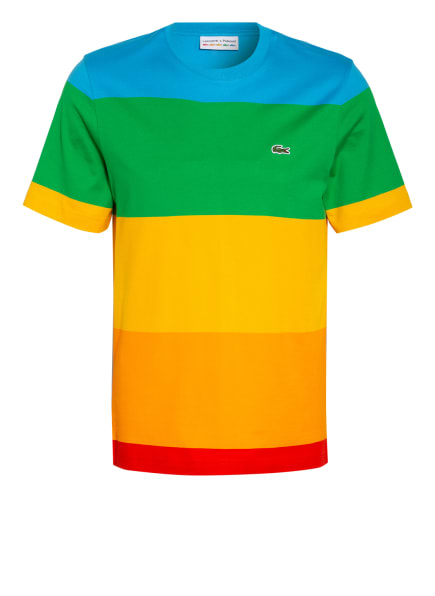 LACOSTE T-Shirt , Farbe: DUNKELGELB/ ORANGE/ GRÜN (Bild 1)