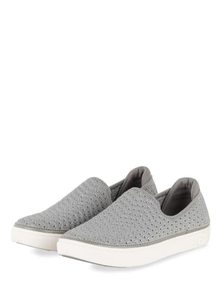 UGG Slip-on-Sneaker mit Glitzergarn, Farbe: HELLGRAU (Bild 1)