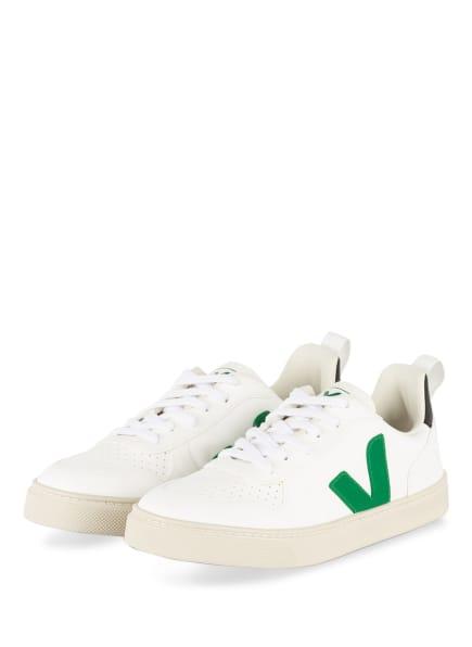 VEJA Sneaker V-10, Farbe: WEISS (Bild 1)