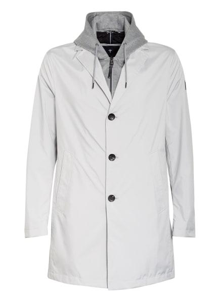 JOOP! Mantel YANEK mit abnehmbarem Sweat-Besatz, Farbe: HELLGRAU (Bild 1)