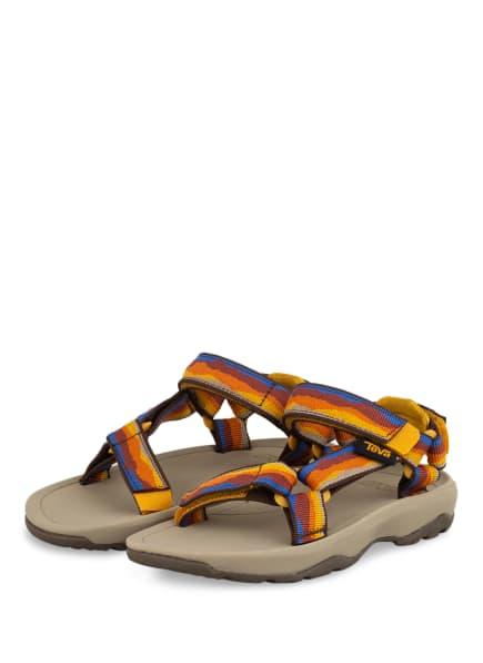 Teva Sandalen HURRICANE XLT 2, Farbe: BLAU/ ORANGE/ DUNKELGELB (Bild 1)