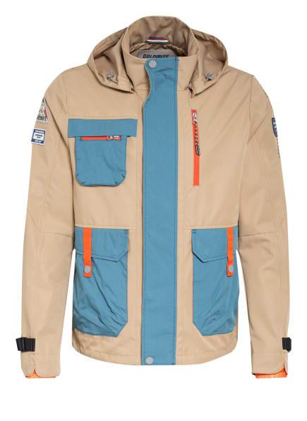 Dolomite Fieldjacket, Farbe: BEIGE/ HELLBLAU (Bild 1)