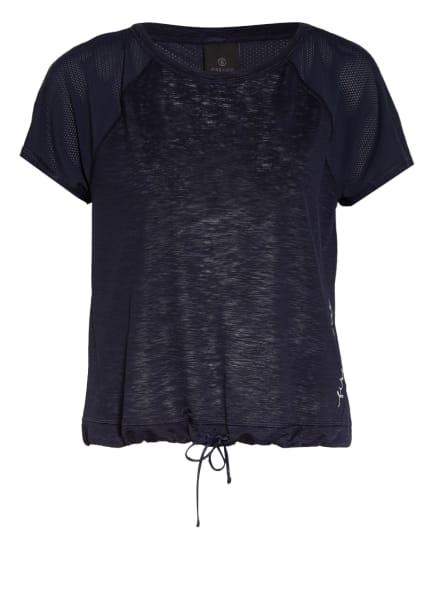 FIRE+ICE T-Shirt FIONA mit Mesh-Einsatz, Farbe: DUNKELBLAU (Bild 1)