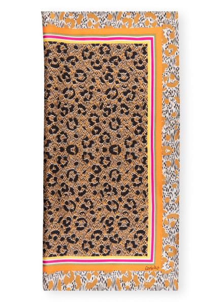 CODELLO Seidentuch , Farbe: COGNAC/ BEIGE/ ORANGE (Bild 1)