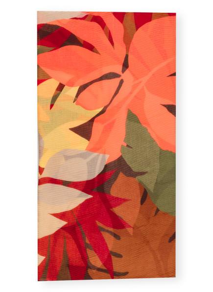 CODELLO Schal, Farbe: BRAUN/ NEONROT/ GELB (Bild 1)