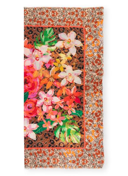 CODELLO Tuch , Farbe: PINK/ BEIGE/ COGNAC (Bild 1)