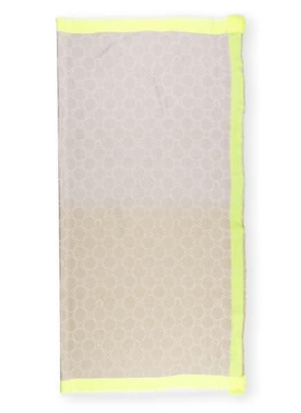 CODELLO Tuch , Farbe: NEONGELB/ OLIV/ CREME (Bild 1)