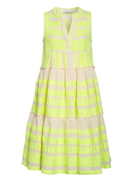 Devotion Kleid, Farbe: GELB/ CREME (Bild 1)