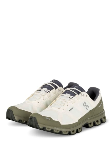 On Trailrunning-Schuhe CLOUDVENTURE WATERPROOF, Farbe: ECRU/ OLIV (Bild 1)