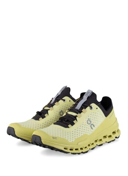 On Trailrunning-Schuhe CLOUDULTRA, Farbe: HELLGELB (Bild 1)