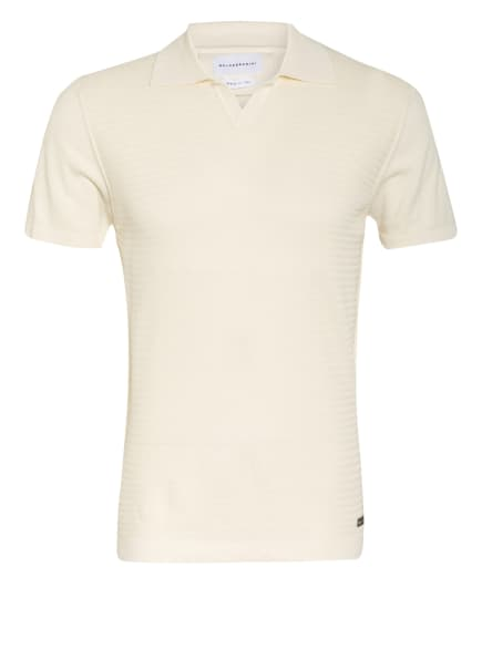 BALDESSARINI Strick-Poloshirt, Farbe: ECRU (Bild 1)