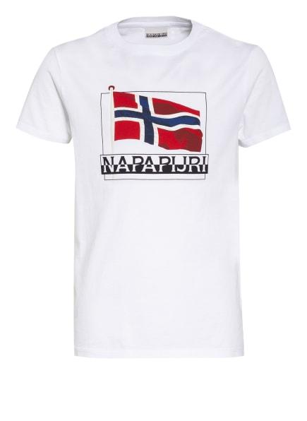 NAPAPIJRI T-Shirt, Farbe: WEISS (Bild 1)