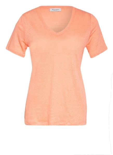 MAERZ MUENCHEN T-Shirt aus Leinen, Farbe: HELLORANGE (Bild 1)