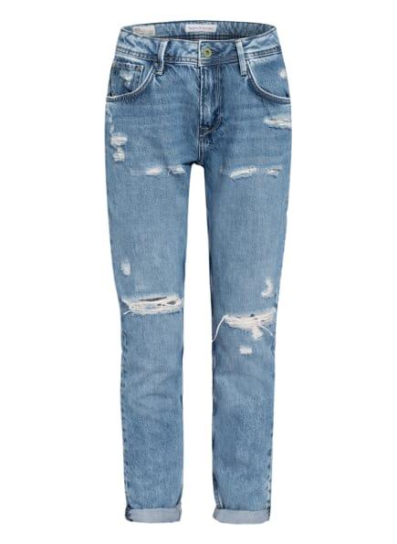 Pepe Jeans Destroyed Jeans VIOLET , Farbe: RA1 medium destroyed (Bild 1)