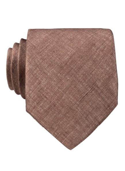 EDUARD DRESSLER Krawatte , Farbe: BRAUN (Bild 1)