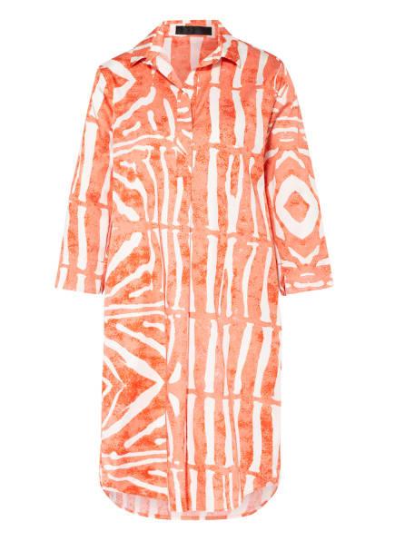 FFC Kleid mit 3/4-Arm, Farbe: WEISS/ ORANGE (Bild 1)