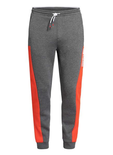 BOSS Sweatpants HADIKO, Farbe: GRAU/ ROT (Bild 1)
