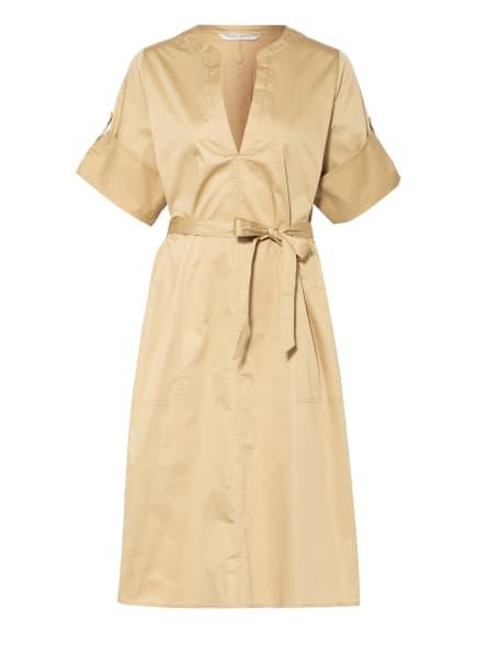 summum woman Kleid mit 3/4-Arm, Farbe: HELLBRAUN (Bild 1)