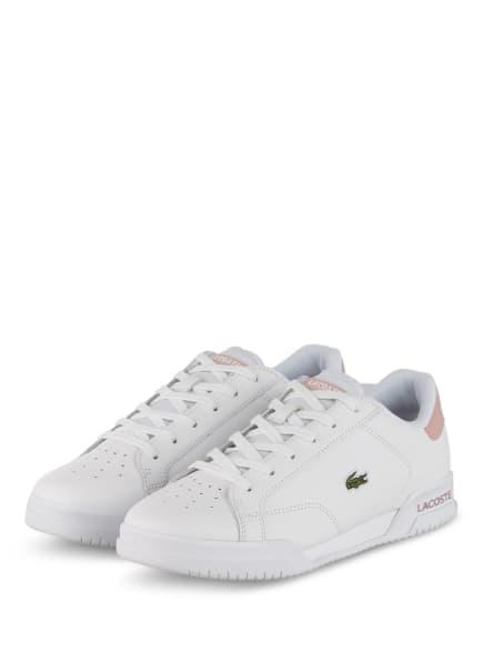 LACOSTE Sneaker TWIN SERVE, Farbe: WEISS/ ROSÉ (Bild 1)
