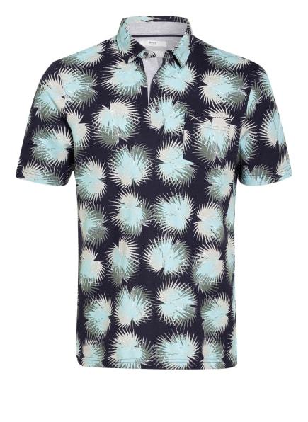 BRAX Piqué-Poloshirt PICO, Farbe: DUNKELBLAU/ MINT/ HELLGRAU (Bild 1)