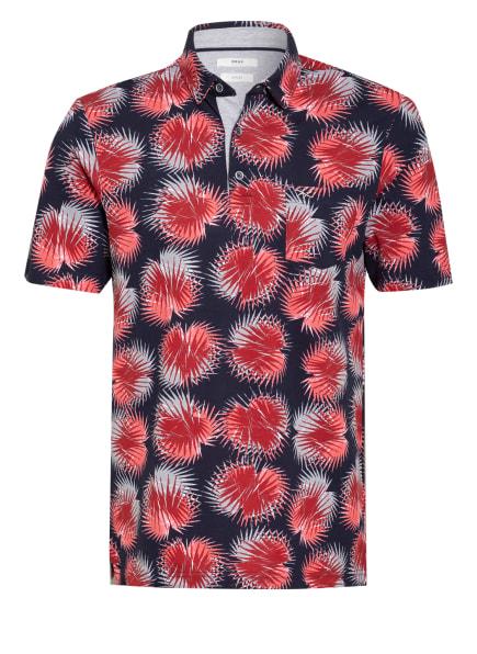 BRAX Piqué-Poloshirt PICO, Farbe: DUNKELROT/ HELLROT/ DUNKELBLAU (Bild 1)