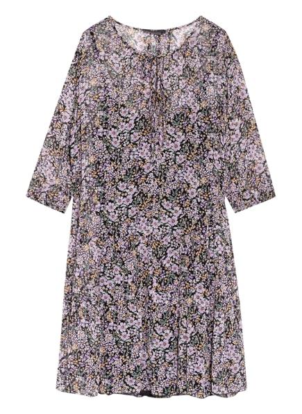 SET Kleid mit 3/4-Arm, Farbe: SCHWARZ/ HELLLILA/ HELLGRÜN (Bild 1)