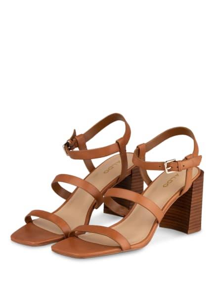 ALDO Sandaletten HAVANA , Farbe: COGNAC (Bild 1)