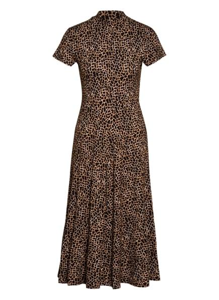 SET Kleid , Farbe: DUNKELBRAUN/ CAMEL (Bild 1)