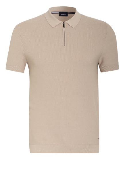 JOOP! Strick-Poloshirt VANCE, Farbe: BEIGE (Bild 1)