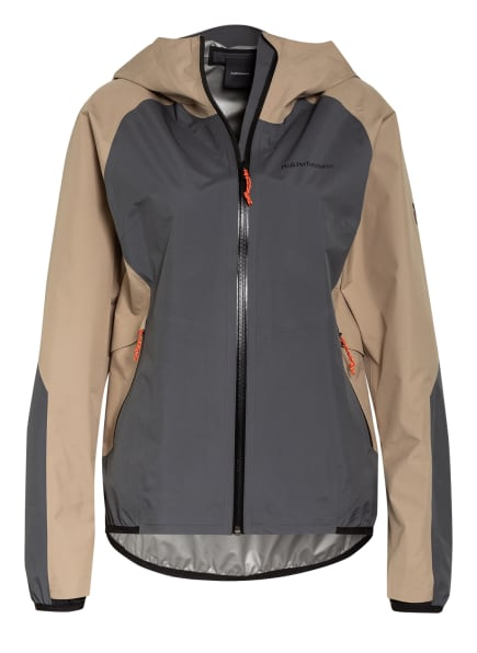 Peak Performance Outdoor-Jacke PAC, Farbe: BEIGE/ DUNKELGRAU (Bild 1)