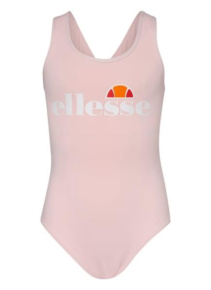 ellesse Badeanzug , Farbe: NUDE/ WEISS/ NEONORANGE (Bild 1)