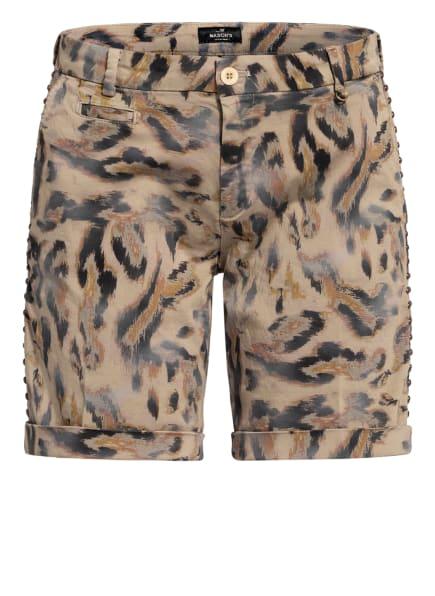 MASON'S Shorts , Farbe: BEIGE/ SCHWARZ/ DUNKELGELB (Bild 1)