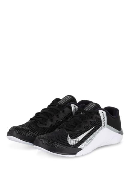 Nike Trainingsschuhe METCON 6, Farbe: SCHWARZ/ SILBER (Bild 1)